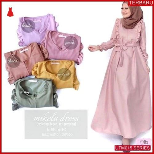 UTM015M54 Baju Mikela Muslim Dress UTM015M54 00F | Terbaru BMGShop