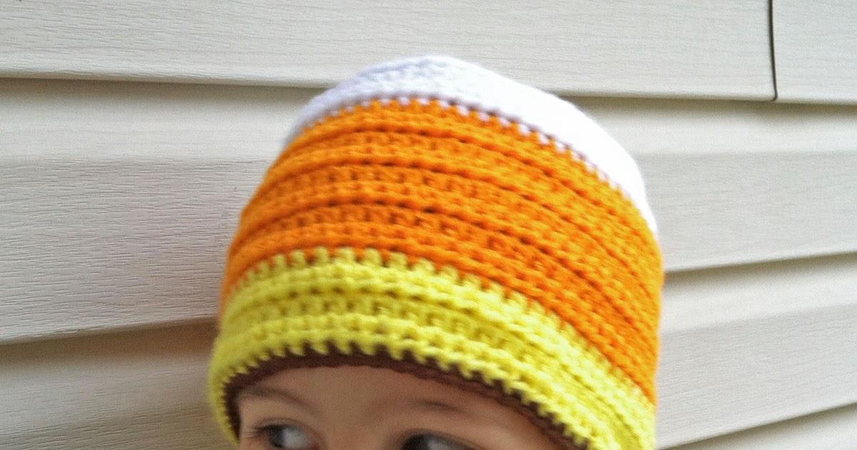 Crochet Rochelle Candy Corn Love
