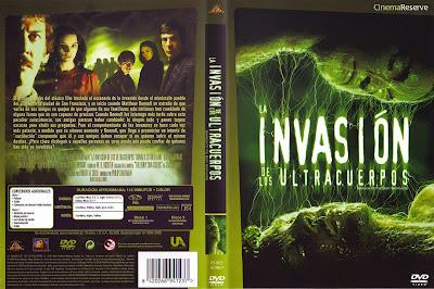 Carátula dvd: La invasión de los ultracuerpos (1978) (Invasion of the Body Snatchers)