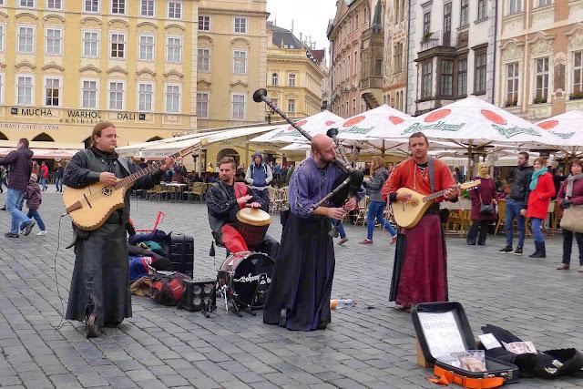 Prague Street Performers