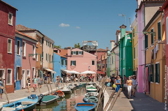 Burano viaje Italia Venecia