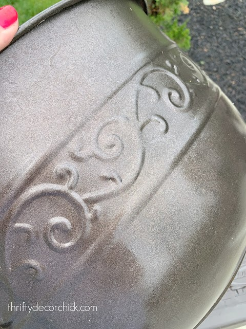 oil rubbed bronze round hose holder