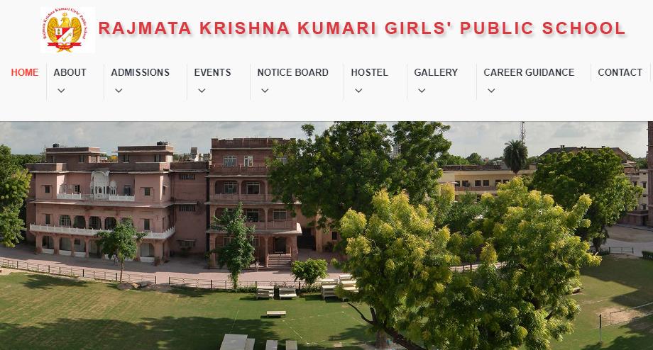 Rajmata Krishna Kumari Girl's Public School, Jodhpur