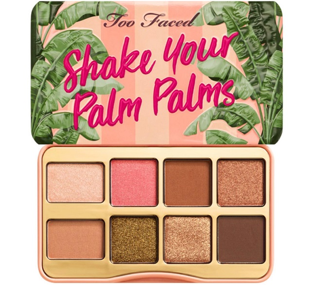 TOO FACED - P&C Shake Your Palm Palms Mini - Paleta mini