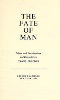 The fate of man by Crane Brinton