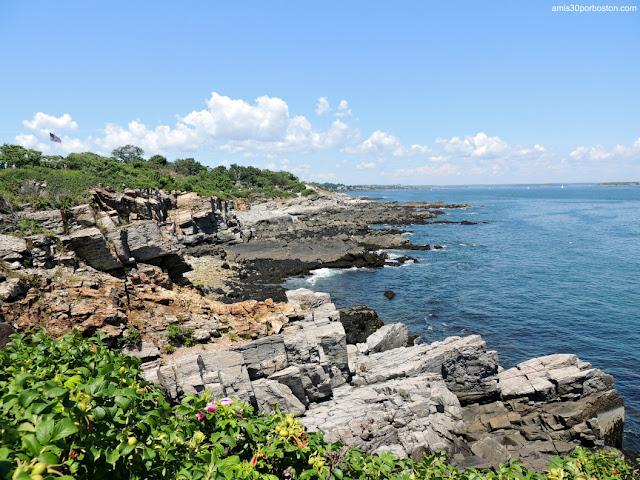 Acantilados de Fort Williams Park en Cape Elizabeth