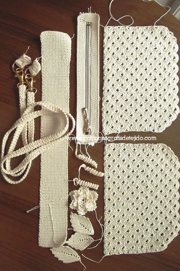 Cómo hacer un bolso de fiesta al crochet / Tutorial DIY | Crochet y ...