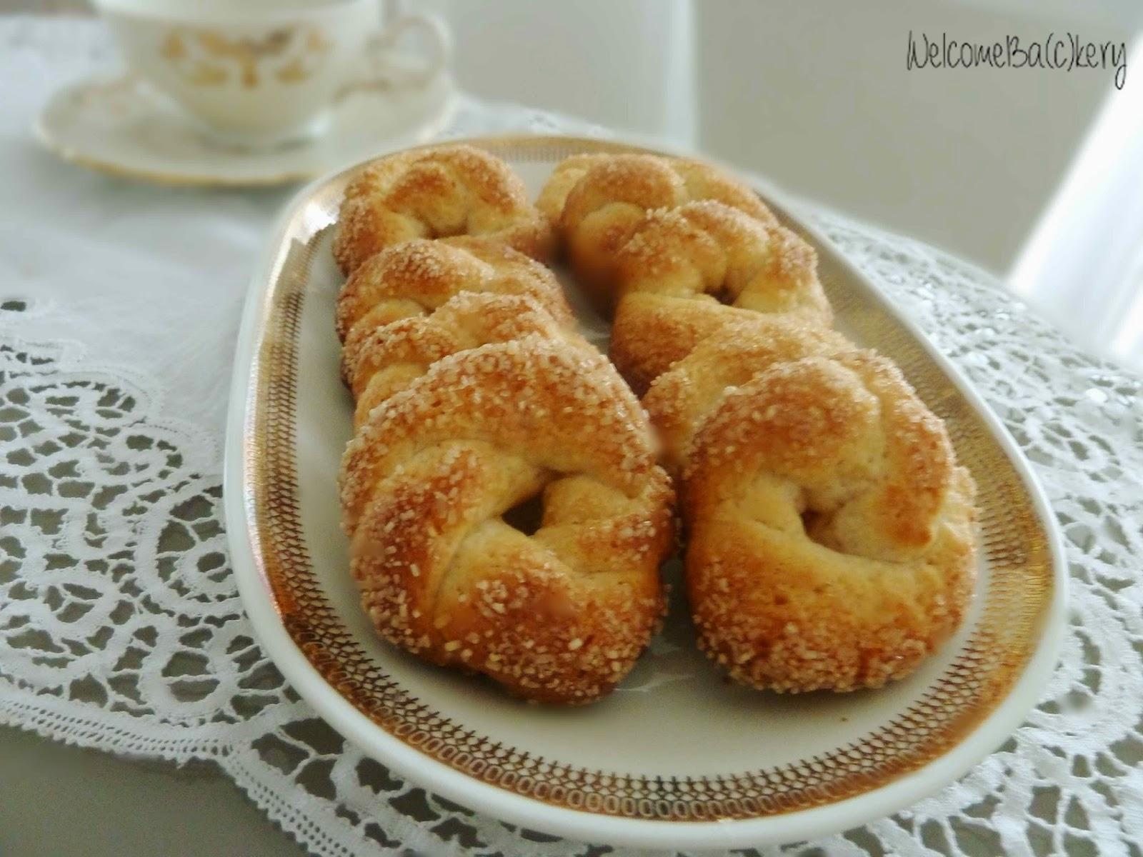 Popolare WelcomeBa(c)kery: Biscotti dolci al vino bianco e zucchero di  NL59