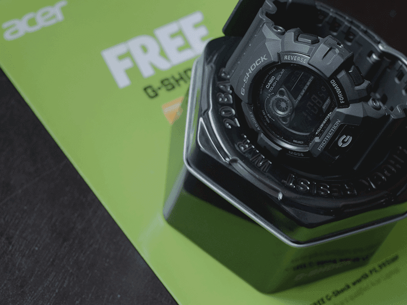 Buy An Acer Laptop And Get A FREE Legit G-Shock Watch