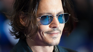 Handsome Hollywood actors Johnny Depp