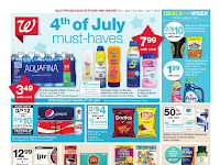 Walgreens weekly ad 4th of July 2018 - Must Haves