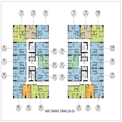 Thiết kế căn hộ Flc Garden City