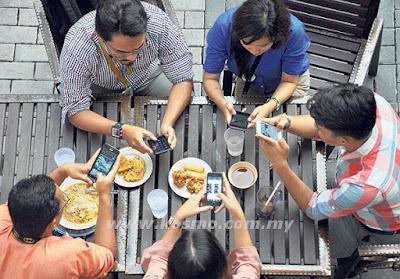 Gajet berinternet jejaskan masa berkualiti pekerja