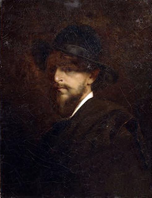 Grigori Grigorievich Miasoedov, Self Portrait, Portraits of Painters, Fine arts, Painter Grigori Grigorievich Miasoedov