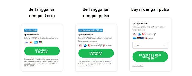 berlangganan spotify premium