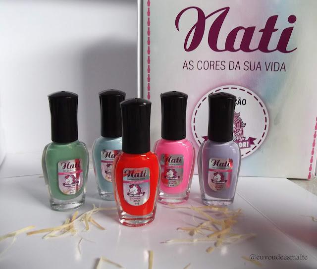 Coleção Multicolor Nati Cosmetica