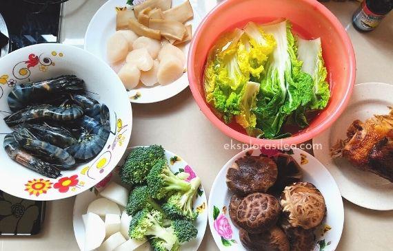 poon choi ingredients