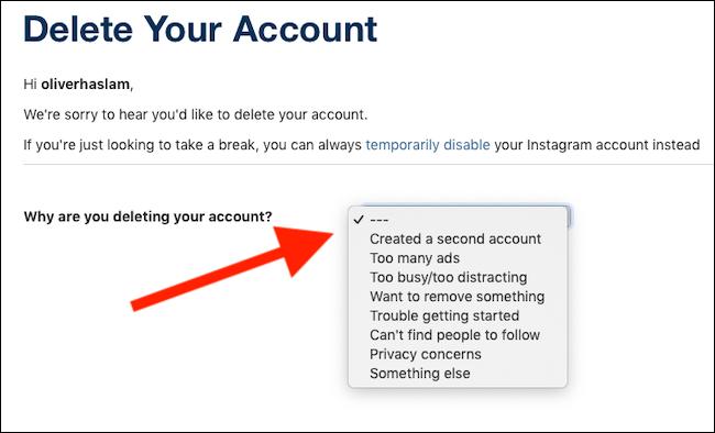 Cara mudah hapus permanen akun Instagram