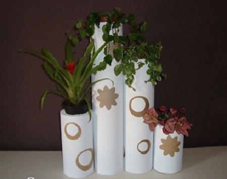 Ideas para reciclar tubos de tela muebles y - Ideas para reciclar muebles ...