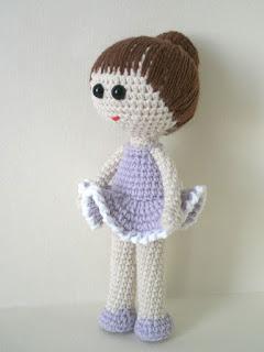Amigurumi Ballerina Doll : Ballerina Doll Amigurumi Free Amigurumi Patterns ...