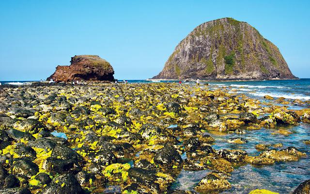 Dịch vụ du lịch Phú Yên - Những chiều biển cạn, gành Yến lộ ra muôn sắc màu