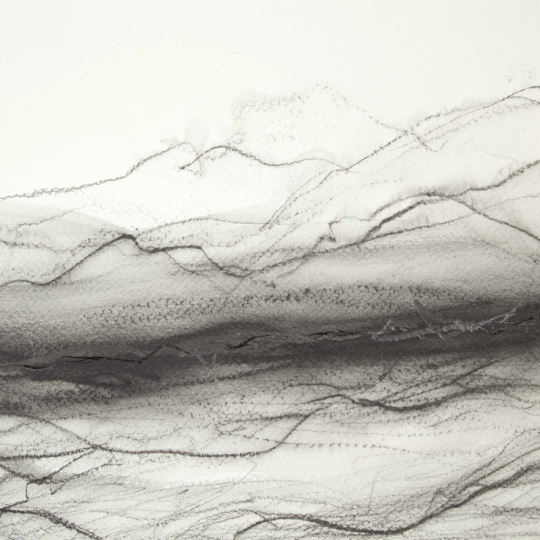 20 x 20 cm graphite sur papier, 13 avril 15