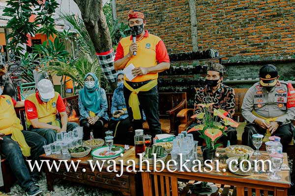 Wawali Kota Bekasi Kunjungi Destinasi Wisata Kampung Bali di Harapan Jaya, Bekasi Utara