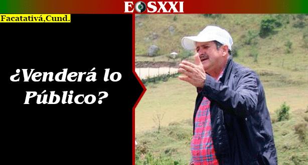 Alcalde Malo García pretende vender el espacio público de Facatativá