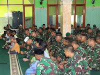 Jelang Penugasan, Yonif Raider 509/Divif 2 Kostrad Gelar Do'a Bersama