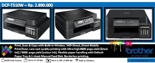 Printer Brother Tipe DCP-T510W - Blog Mas Hendra