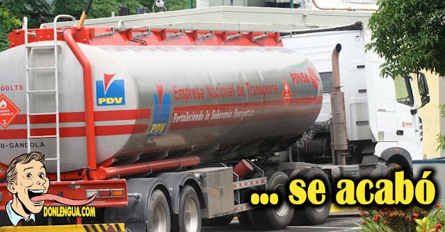 MUY GRAVE | Solo queda gasolina iraní para 12 días en Venezuela