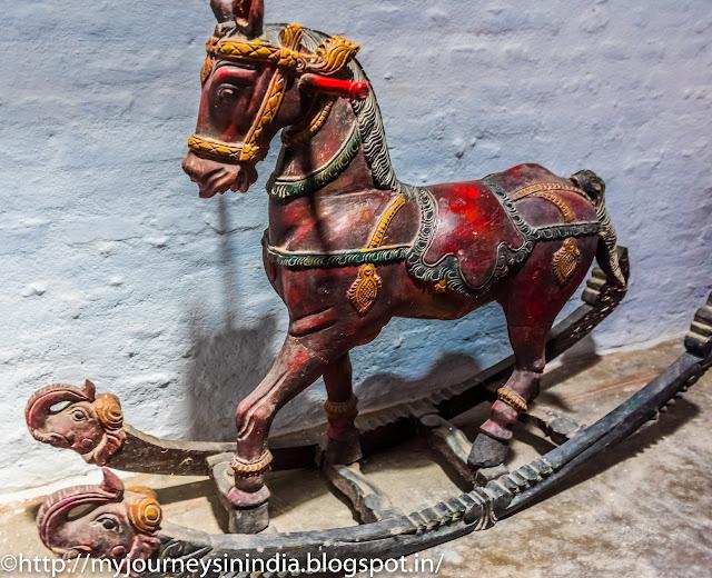 Kanchi Kudil Wooden Rocking horse