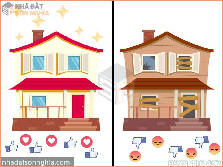Làm mới ngôi nhà đã cũ là cần thiết để bán được