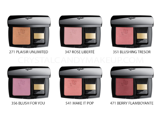 Lancome Blush Subtil Powder Blushes New Shades 2019