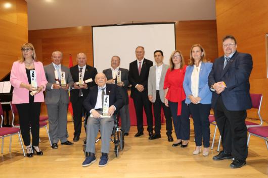 Los Jaume I de Llíria reconocen el trabajo de las federaciones Española y Valenciana de sociedades musicales