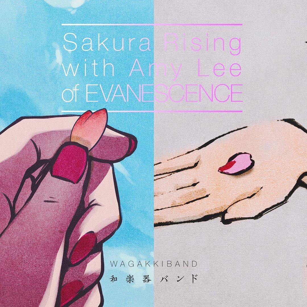 Wagakki Band - Sakura Rising with Amy Lee of EVANESCENCE [2020.09.18+MP3+RAR]