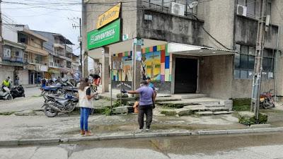 Instalaran lavamanos en el centro de Quibdó para prevenir el coronavirus