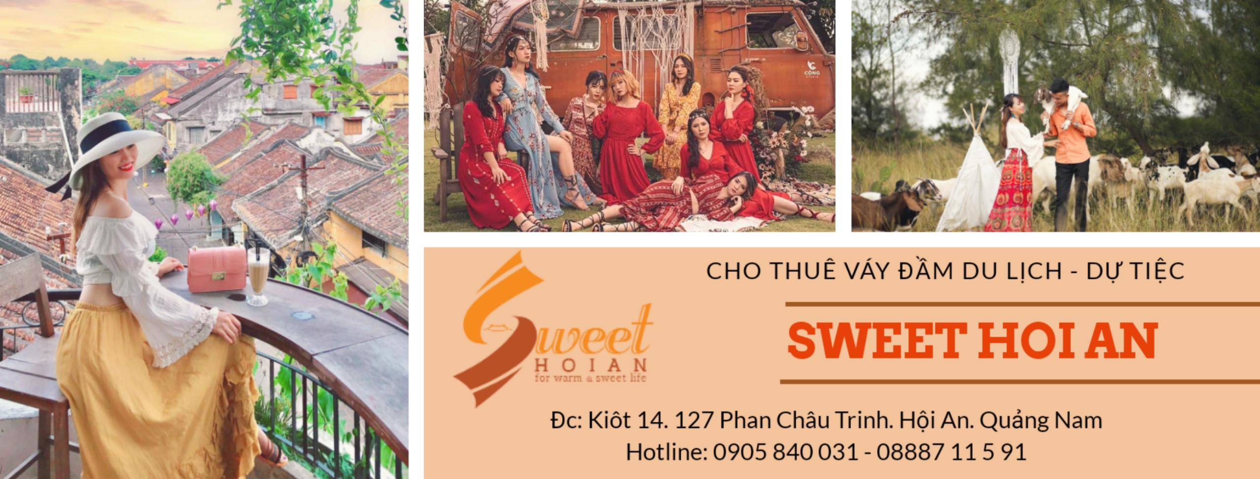 Sweet Hoi An - Cho Thuê Việt Cổ Phục & Váy Đầm Du Lịch tại Hội An