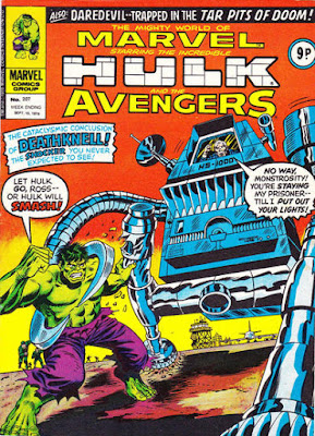 Mighty World of Marvel #207, the Incredible Hulk