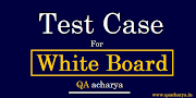 Test Cases for Whiteboard