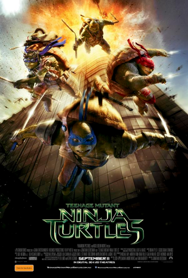 Teenage Mutant Ninja Turtles 2014 - Full (HD)