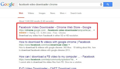 facebook video downloader for chrome