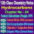 10 Class Chemistry | Hydrocarbons Notes