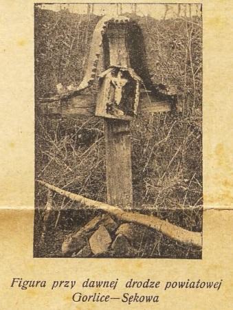 Sękowa kapliczka 1938