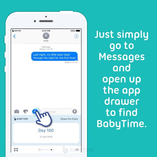 new baby app