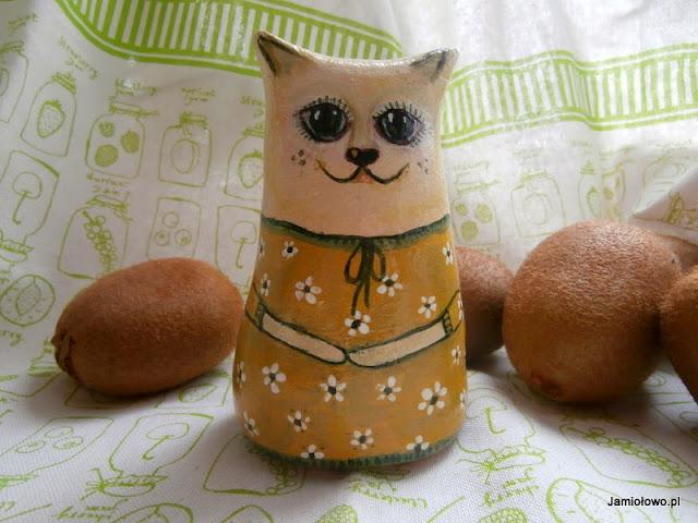 masa solna -kotka ręcznie malowana