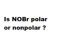 Is NOBr polar or nonpolar ?