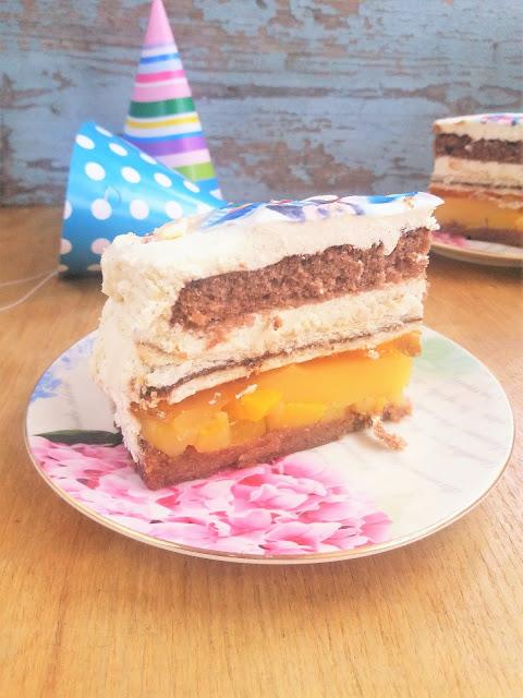 tort z nutellą prostokatny przepis