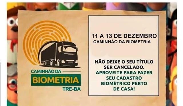 Eleitores de Várzea do Poço que ainda não realizaram o recadastramento biométrico terão mais uma alternativa para regularizar sua situação