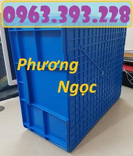 Thùng nhựa đặc B8 có nắp, hộp nhựa B8, khay nhựa đựng đồ 20180407_124918